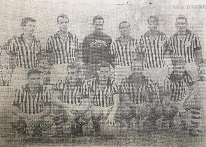 Internacional disputou 17 amistosos em 1958