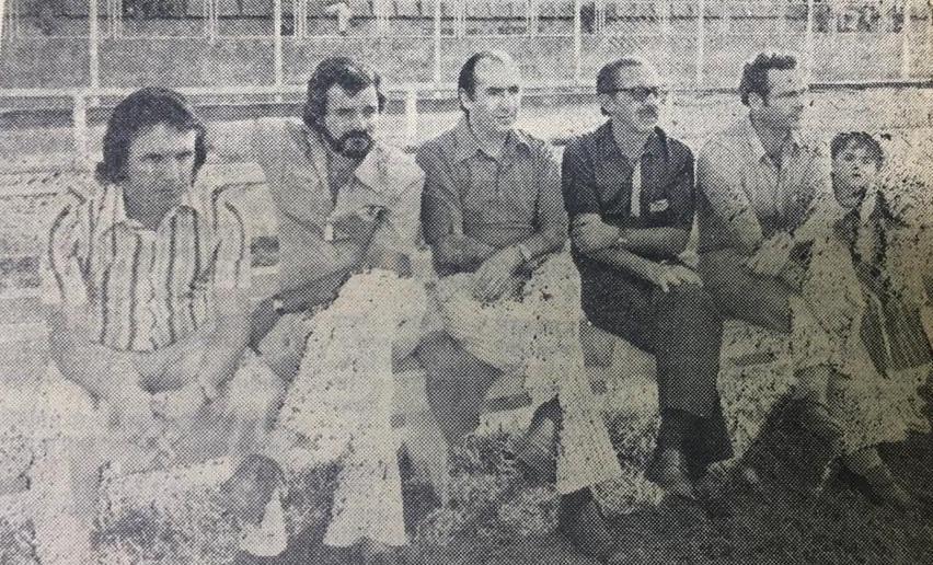 Fotos de dirigentes leoninos