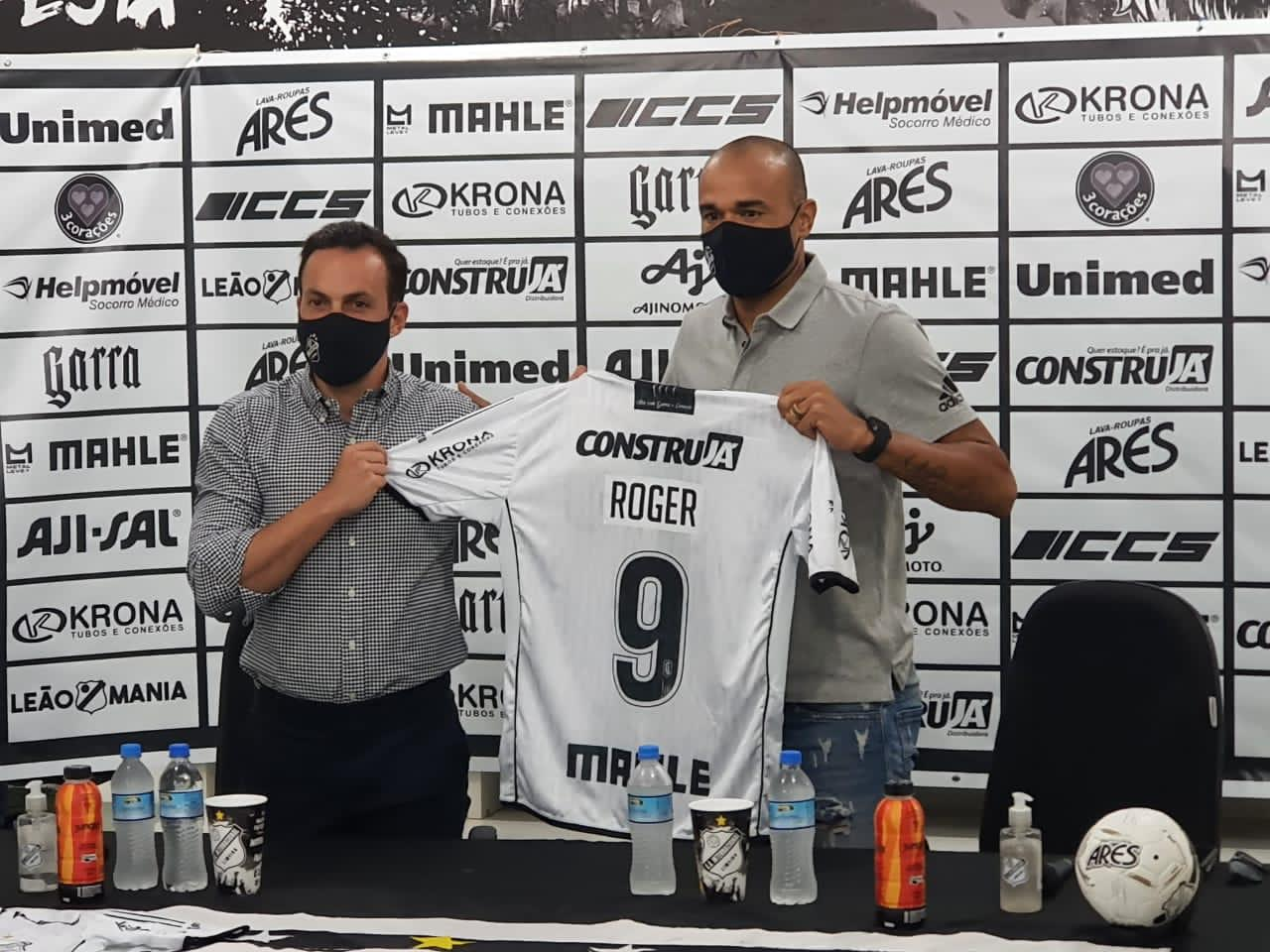Roger diz que se sente realizado e que pode encerrar a carreira na Inter