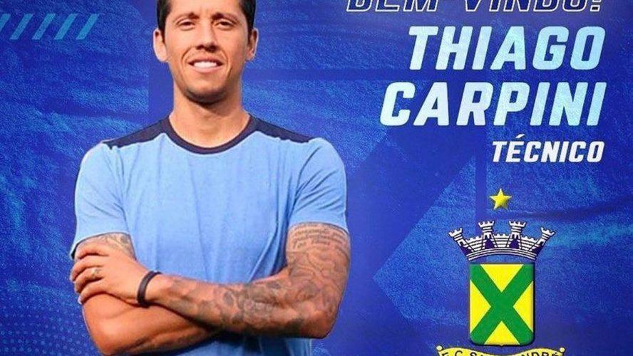 Thiago Carpini é o novo técnico do Santo André
